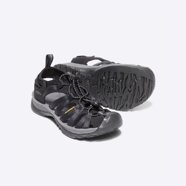 KEEN キーン Womens Whisper Black/Magnet