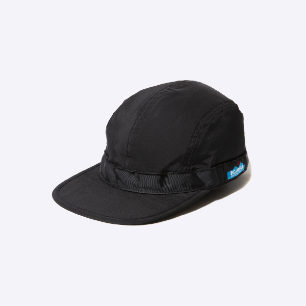 KAVU カブー 60/40 Strap Cap Black Nicetime Exclusive