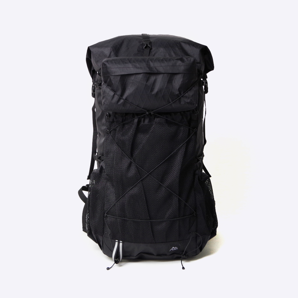 CAYL ケイル Baekdu2 X-Pac Black mesh with HipBelt